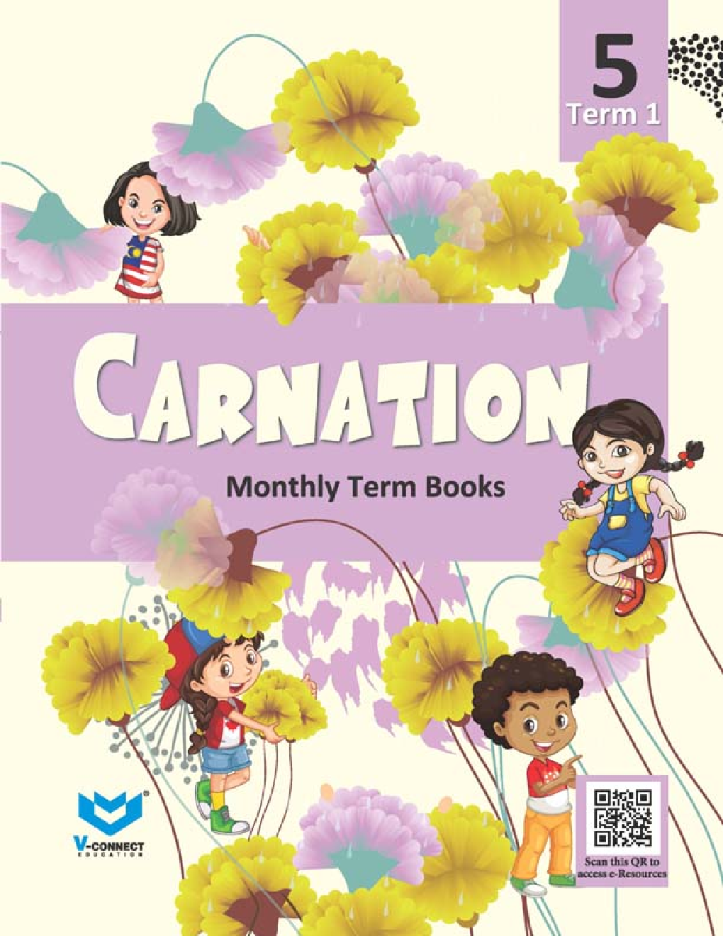 Carnation For Class - V (Term-I) - Page 1