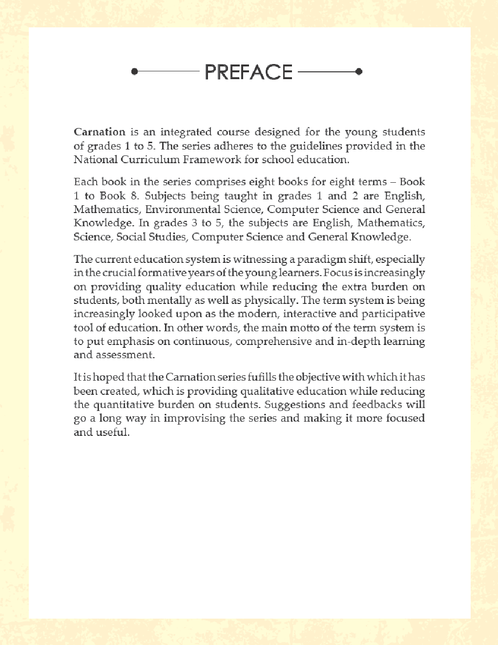 Carnation For Class - V (Term-I) - Page 4