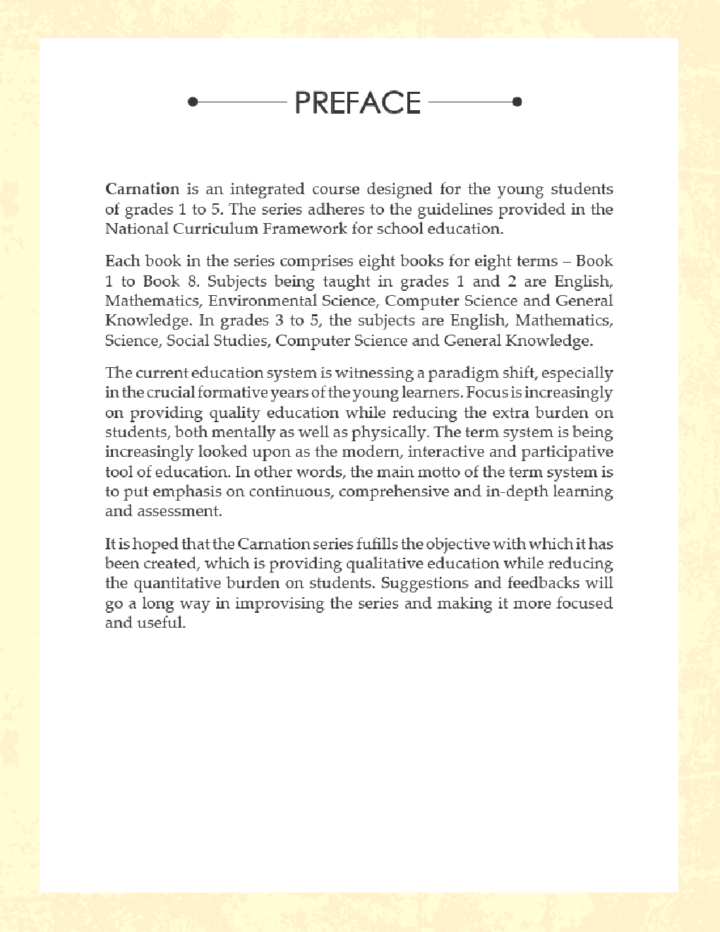 Carnation For Class - V (Term-III) - Page 4