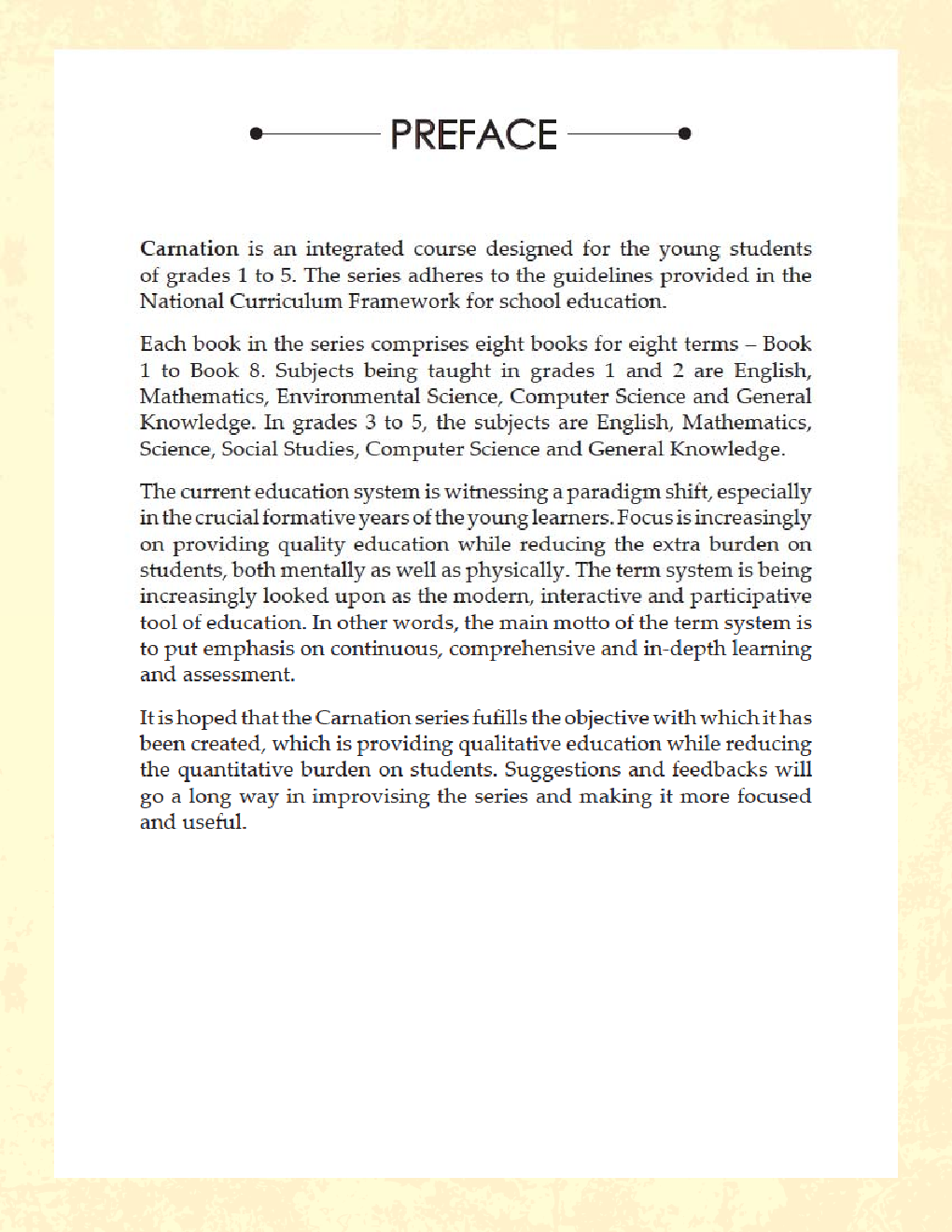 Carnation For Class - IV (Term-IV) - Page 4