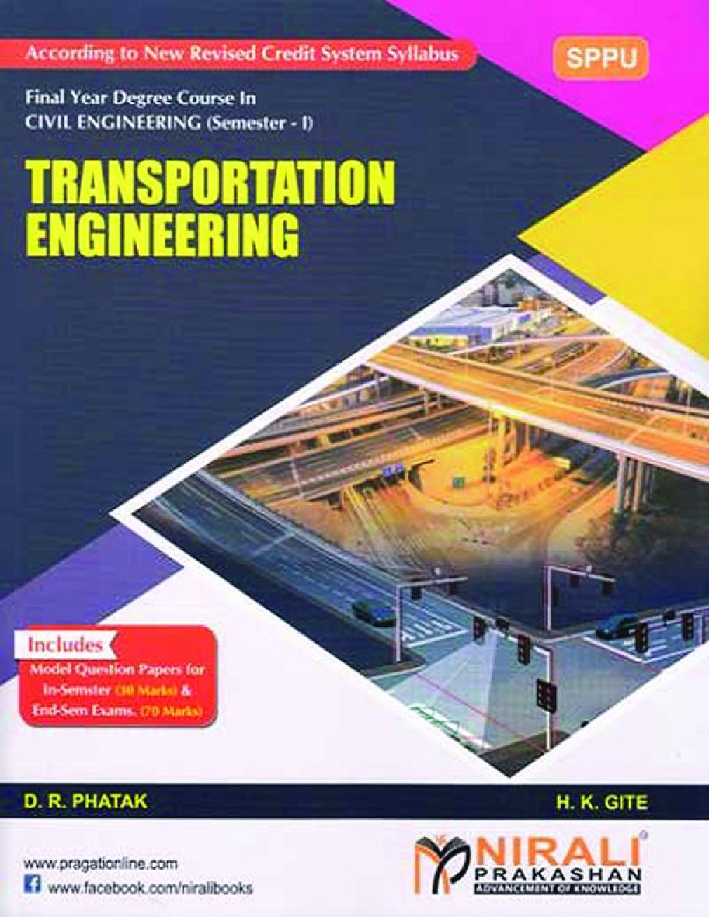 Transportation Engineering - Page 1