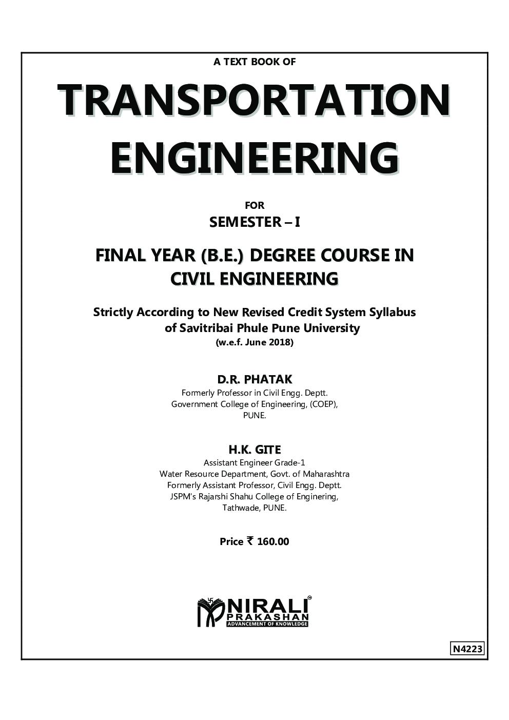 Transportation Engineering - Page 2