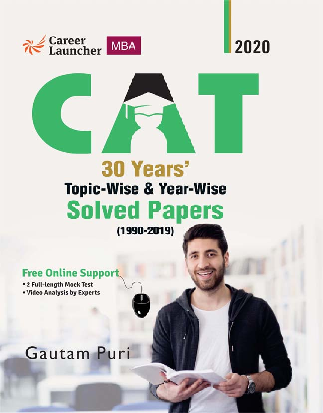 CAT 2020 30 Years Topic-Wise & Year-Wise Solved Papers 1990-2019 - Page 1