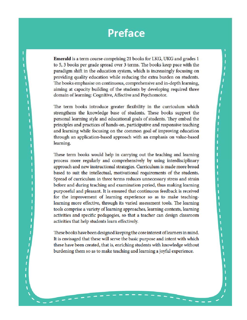 Emerald - An Integrated Term Course For Class - IV  (Term-III) - Page 4