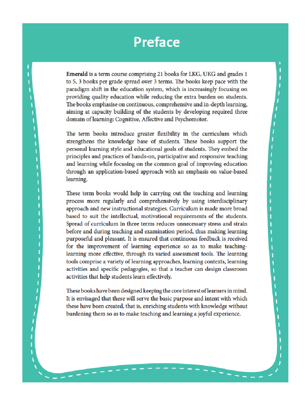 Emerald - An Integrated Term Course For Class - V  (Term-III) - Page 4