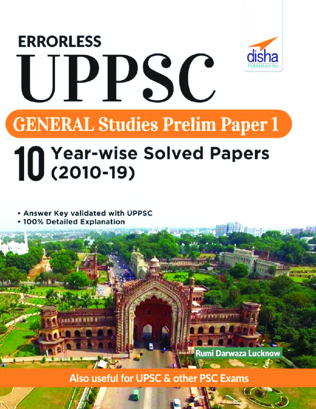 Errorless UPPSC General Studies Prelim Paper 1 - 10 Year-Wise Solved Papers (2010 - 19) - Page 1