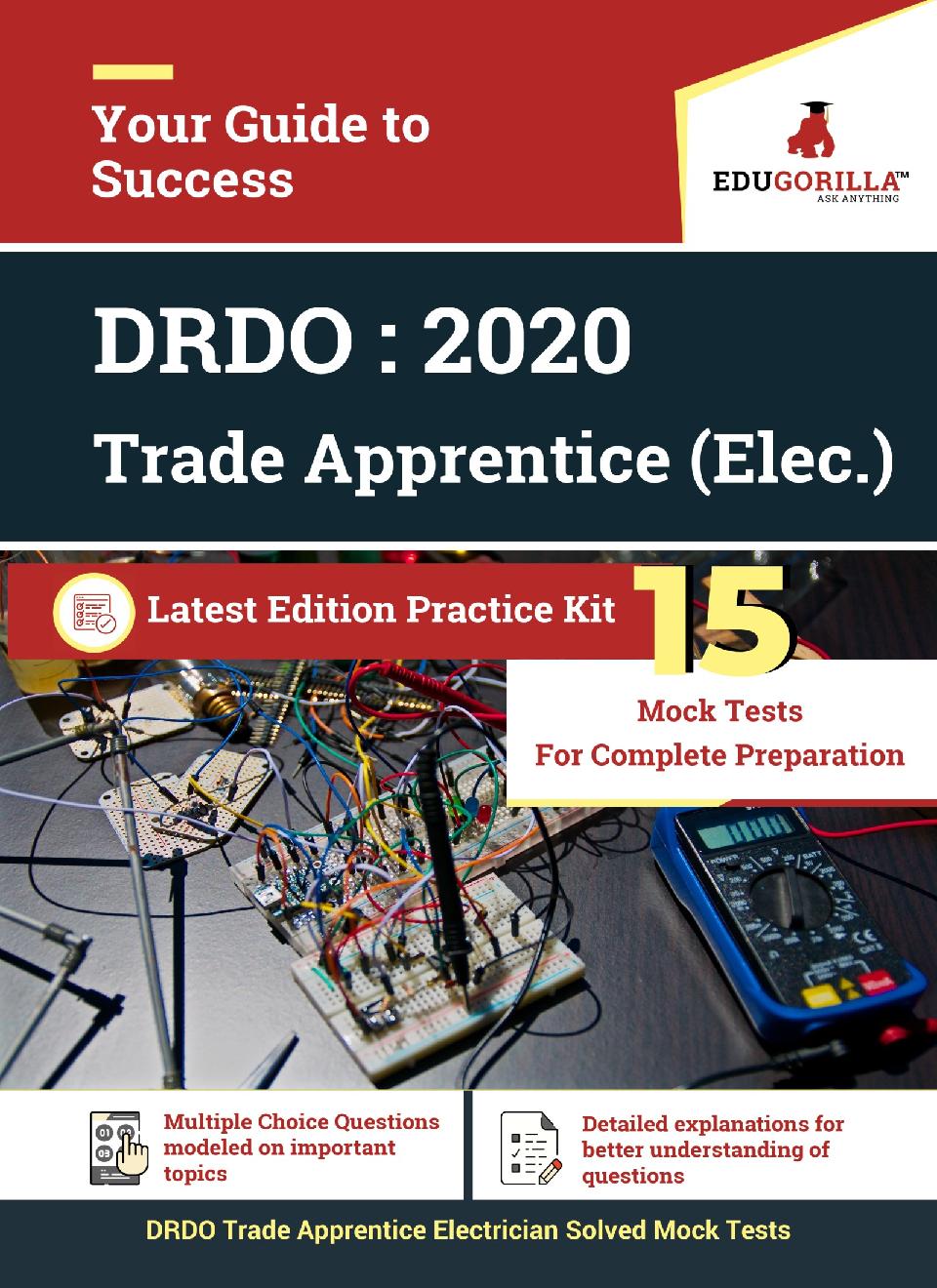 EduGorilla DRDO Trade Apprentice (Electrician) - 2020 - 15 Topicwise Tests - Page 1
