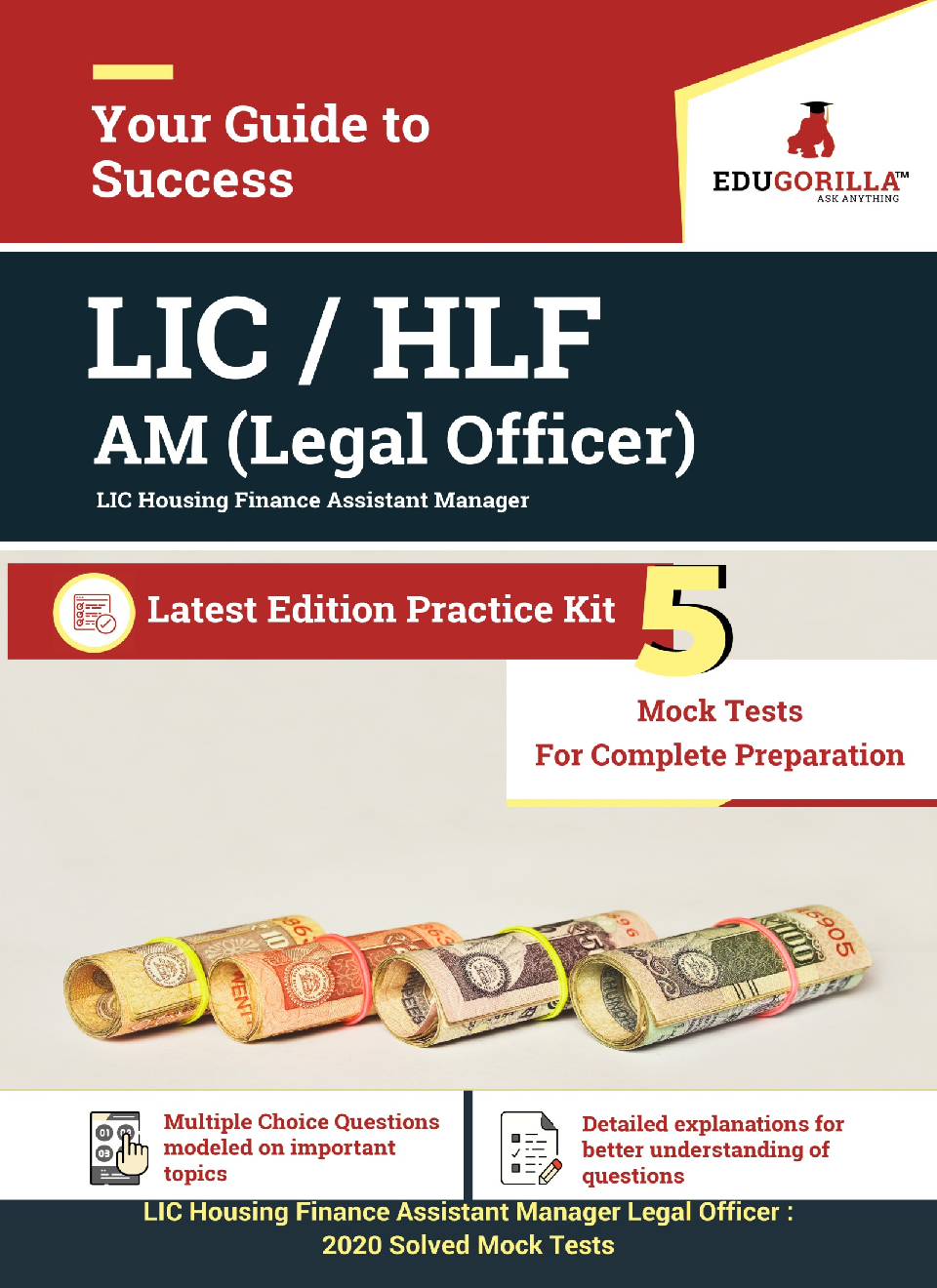 EduGorilla LIC Housing Finance Assistant Manager (Legal Officer) 2020  - 5 Mock Tests For Complete Preparation  - Page 1