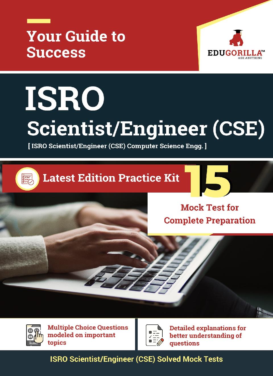 Edugorilla ISRO CSE (Computer Science) Scientist/Engineer   15 Mock Test - Page 1