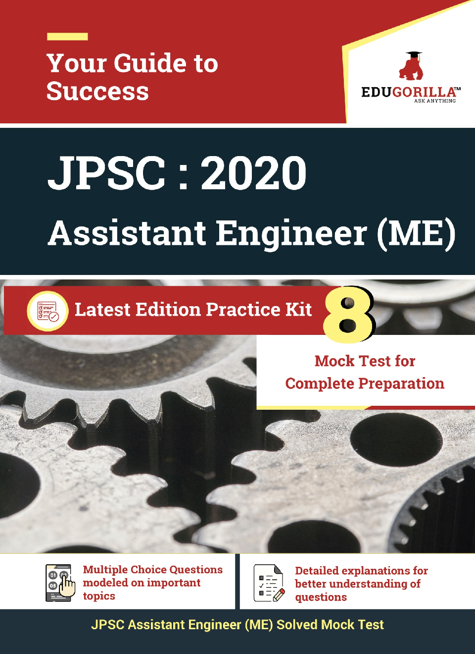 Edugorilla Jharkhand PSC - JPSC AE ME (Assistant Engineer Mechanical) 2020   8 Full Length Mock Test   With Complete Solution - Page 1