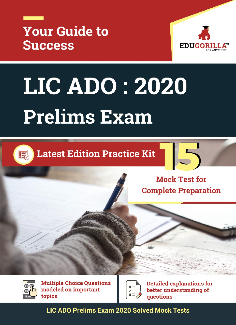 EduGorilla LIC ADO Prelims Exam 2020 | 15 Mock Test - Page 1