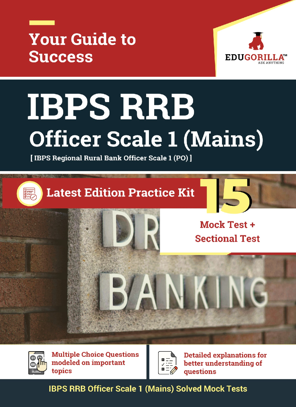 EduGorilla IBPS RRB Officer Scale 1 Mains Exam 2020 | 15 Mock Test + Sectional Test - Page 1