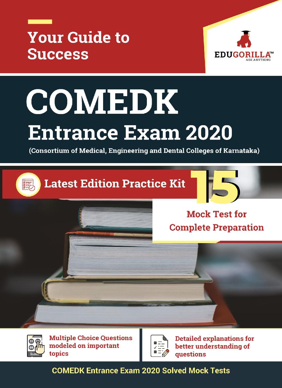 EduGorilla COMEDK Entrance Exam 2020   15 Mock Test - Page 1