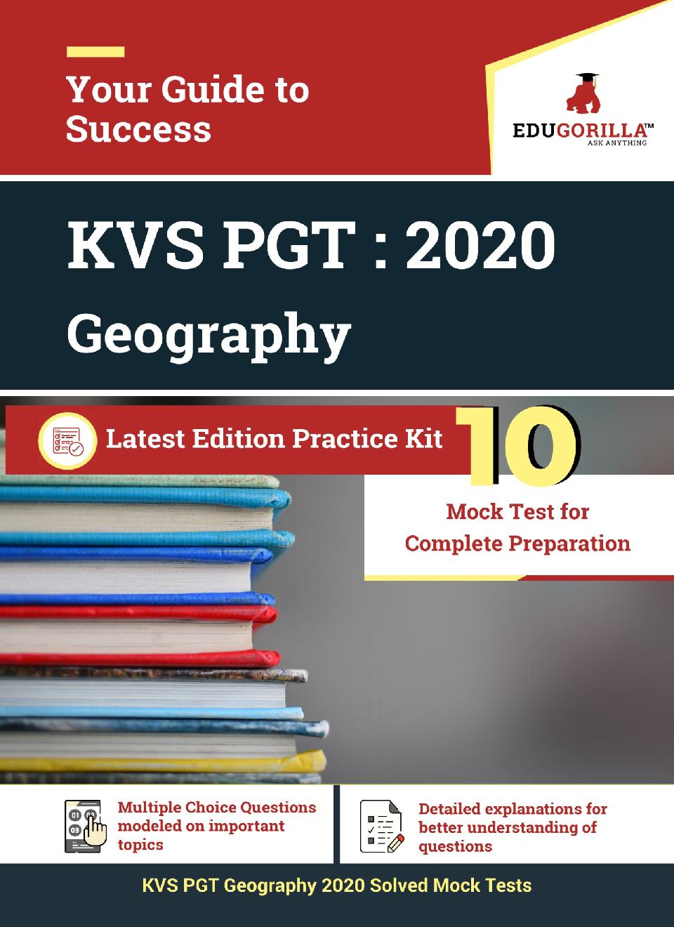 EduGorilla KVS PGT (Geography) 2020 | 10 Mock Test For Complete Preparation - Page 1