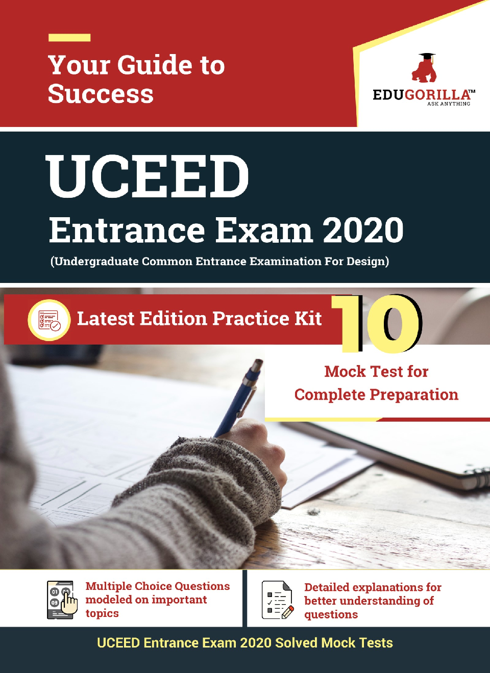 EduGorilla UCEED Entrance Exam 2020 | 10 Mock Test For Complete Preparation - Page 1