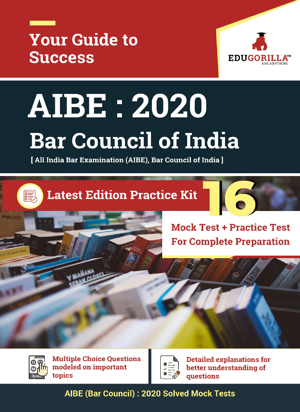 EduGorilla All India Bar Examination (Bar Council) 2020   10 Mock tests + 6 Practice Tests - Page 1