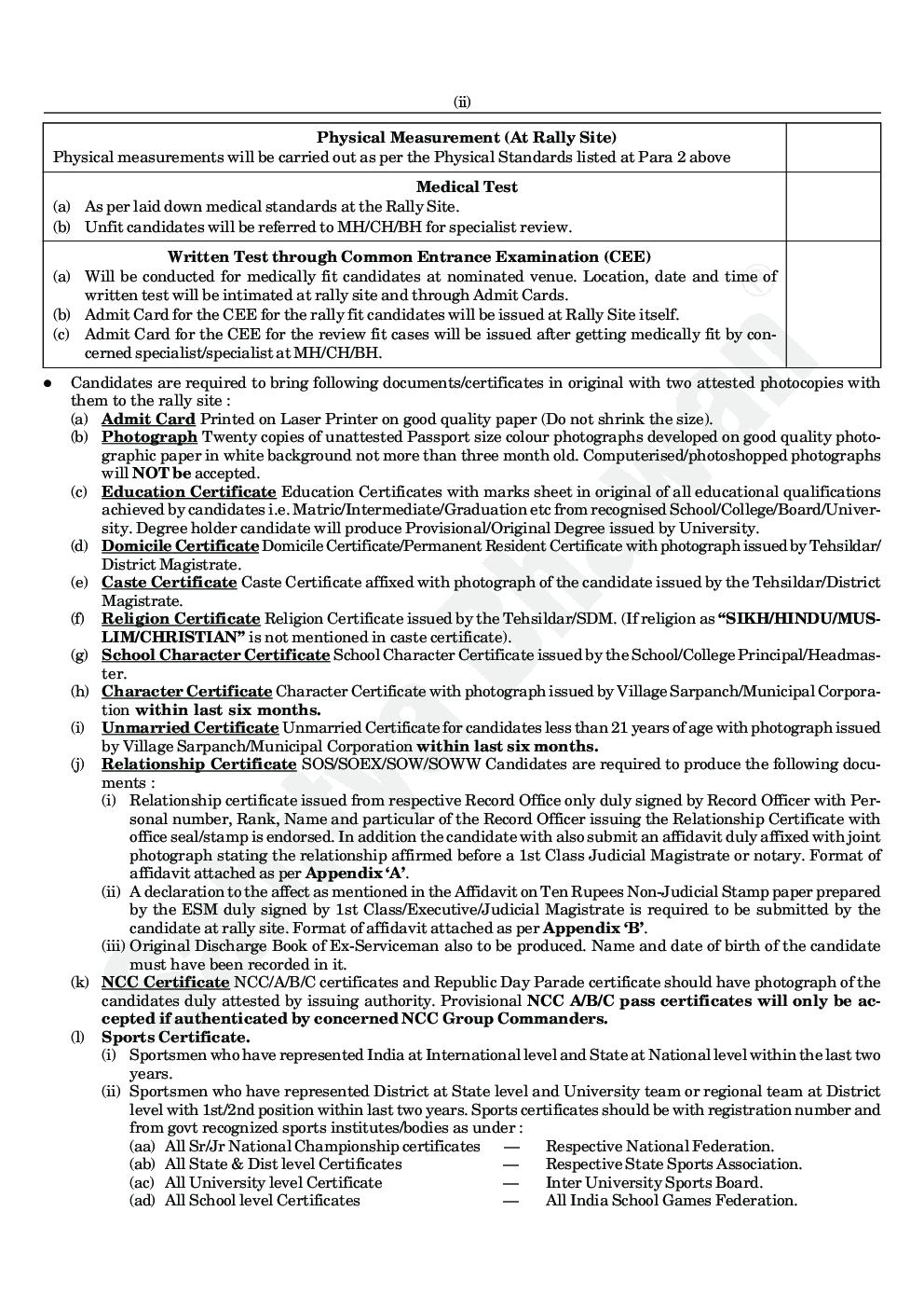 NER Sainik General Eyuti Bahrti Pariksha - Page 5