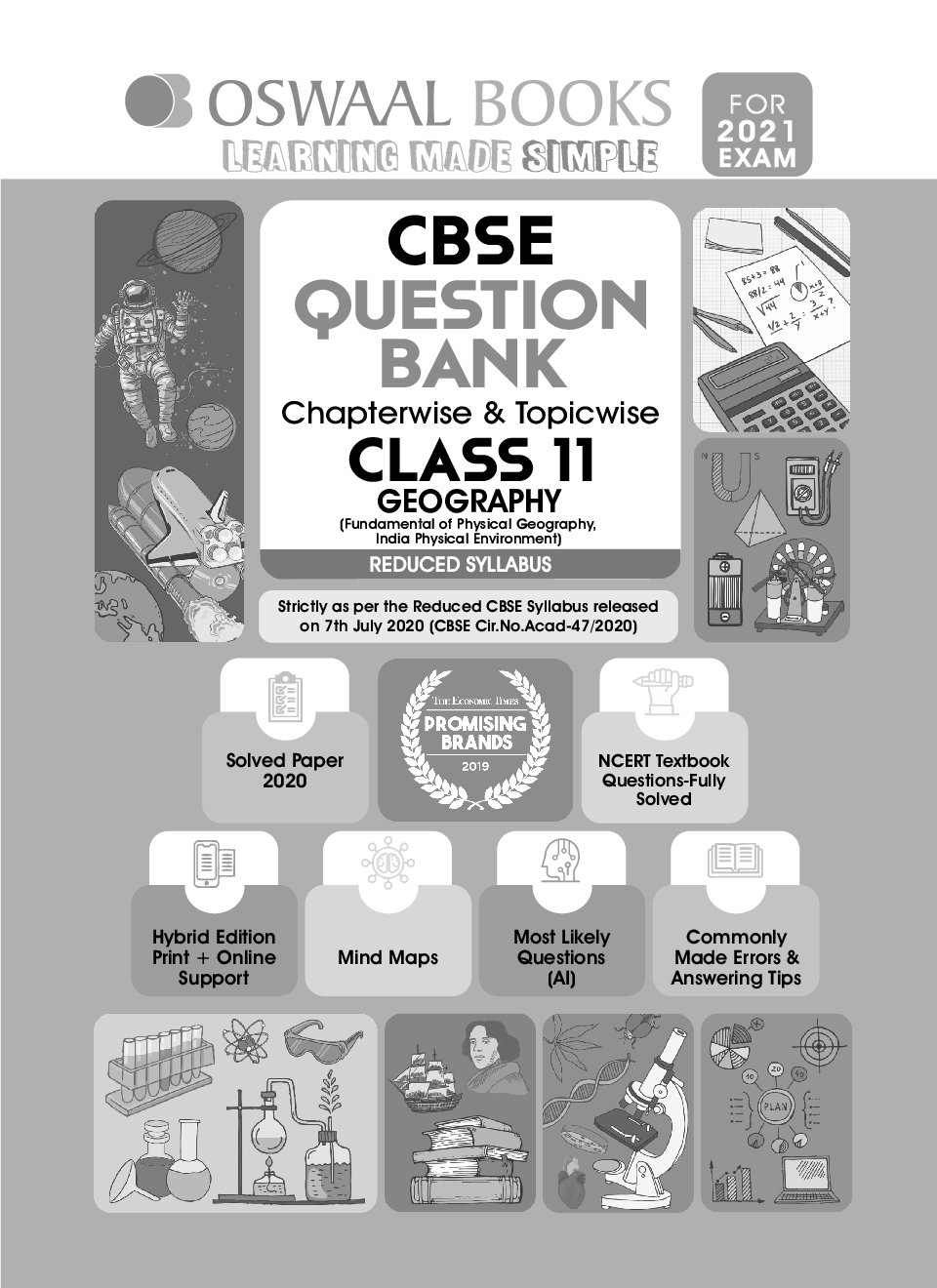 Oswaal CBSE Question Bank Chapterwise & Topicwise For Class - XI Geography Reduced Syllabus (For March 2021 Exam) - Page 2