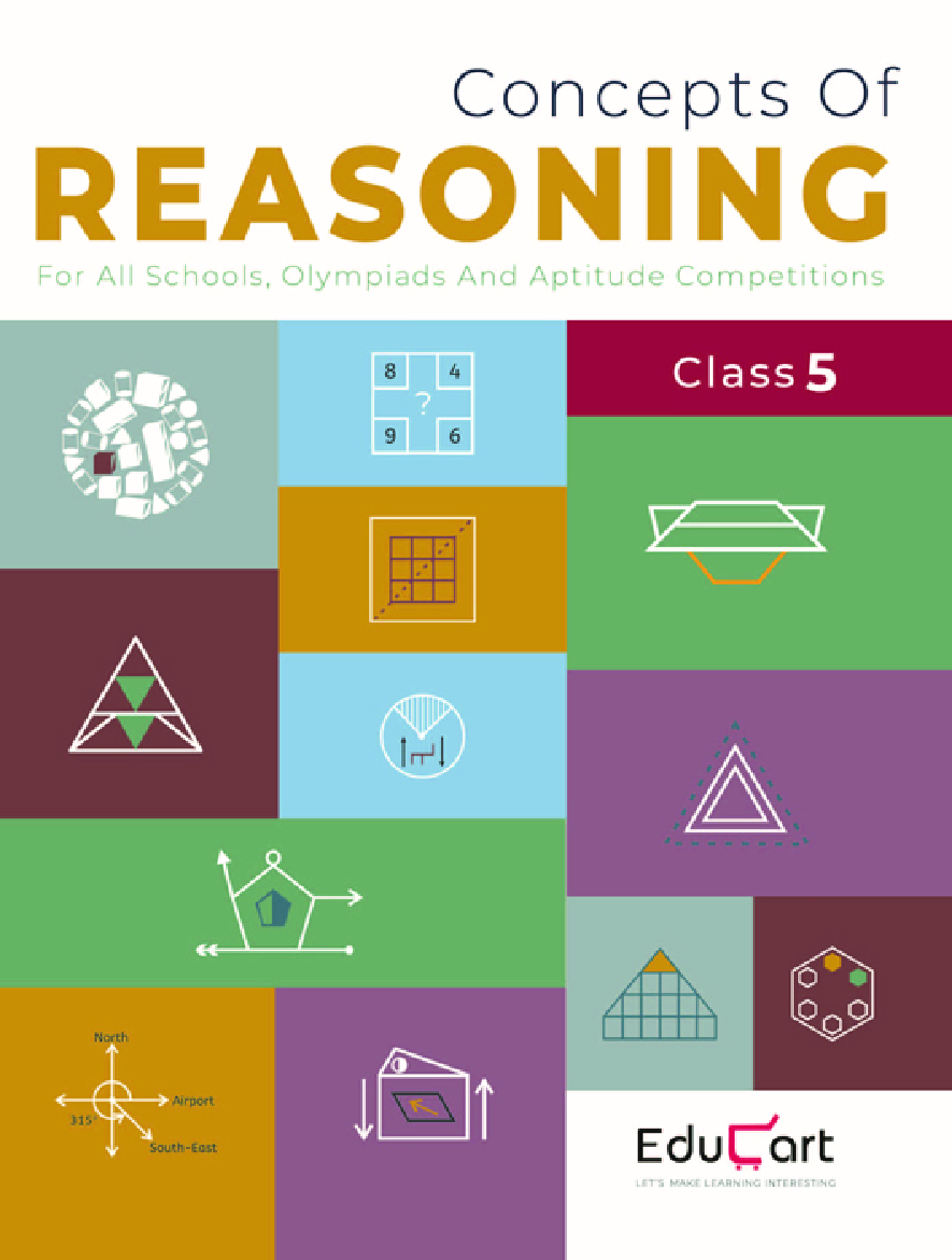 Educart Concepts Of Reasoning For Class - V (All Olympiads And School Competitions) - Page 1