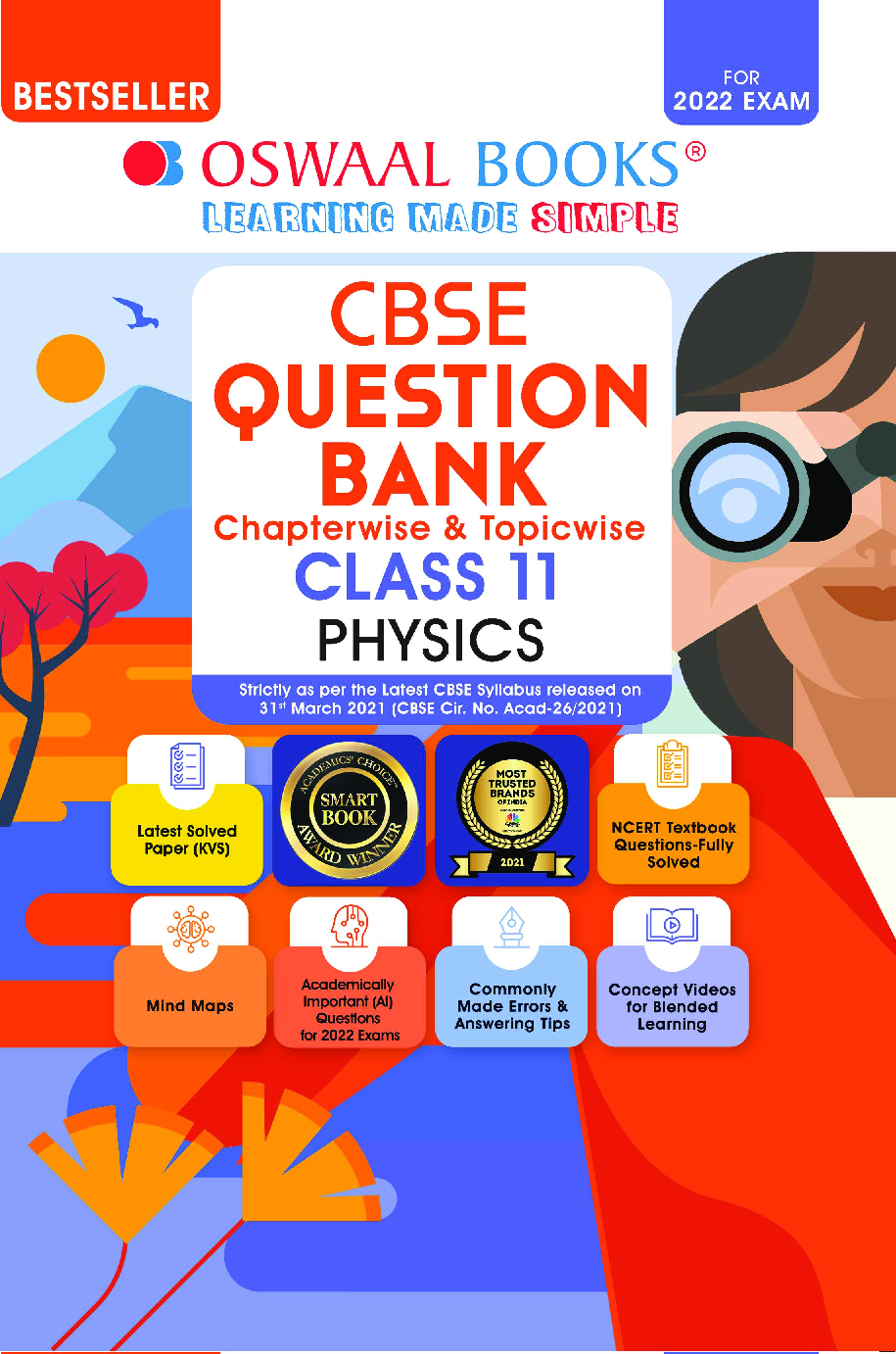 Oswaal CBSE Question Bank Class 11 Physics Book Chapterwise & Topicwise (For 2022 Exam) - Page 1