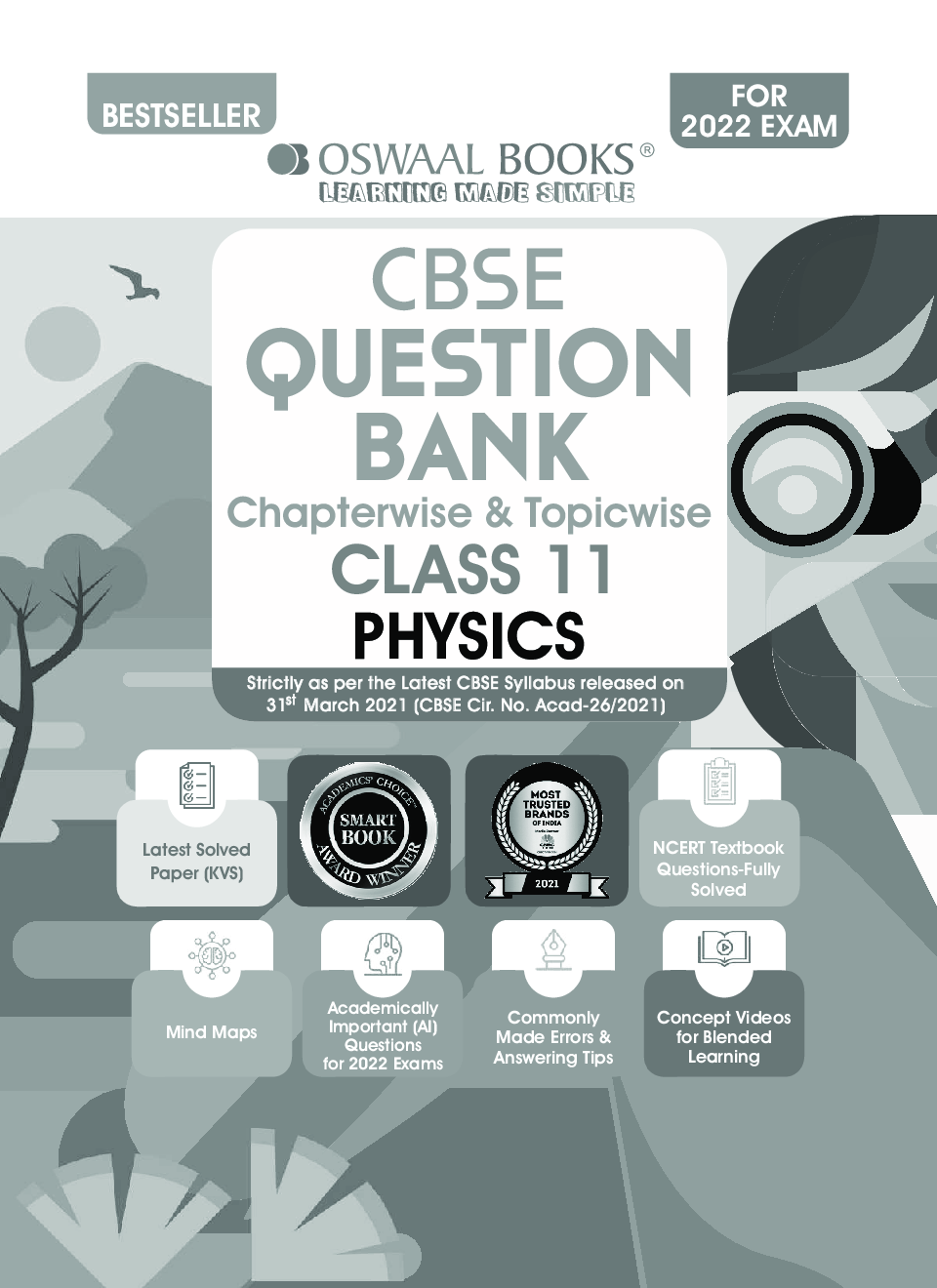 Oswaal CBSE Question Bank Class 11 Physics Book Chapterwise & Topicwise (For 2022 Exam) - Page 2