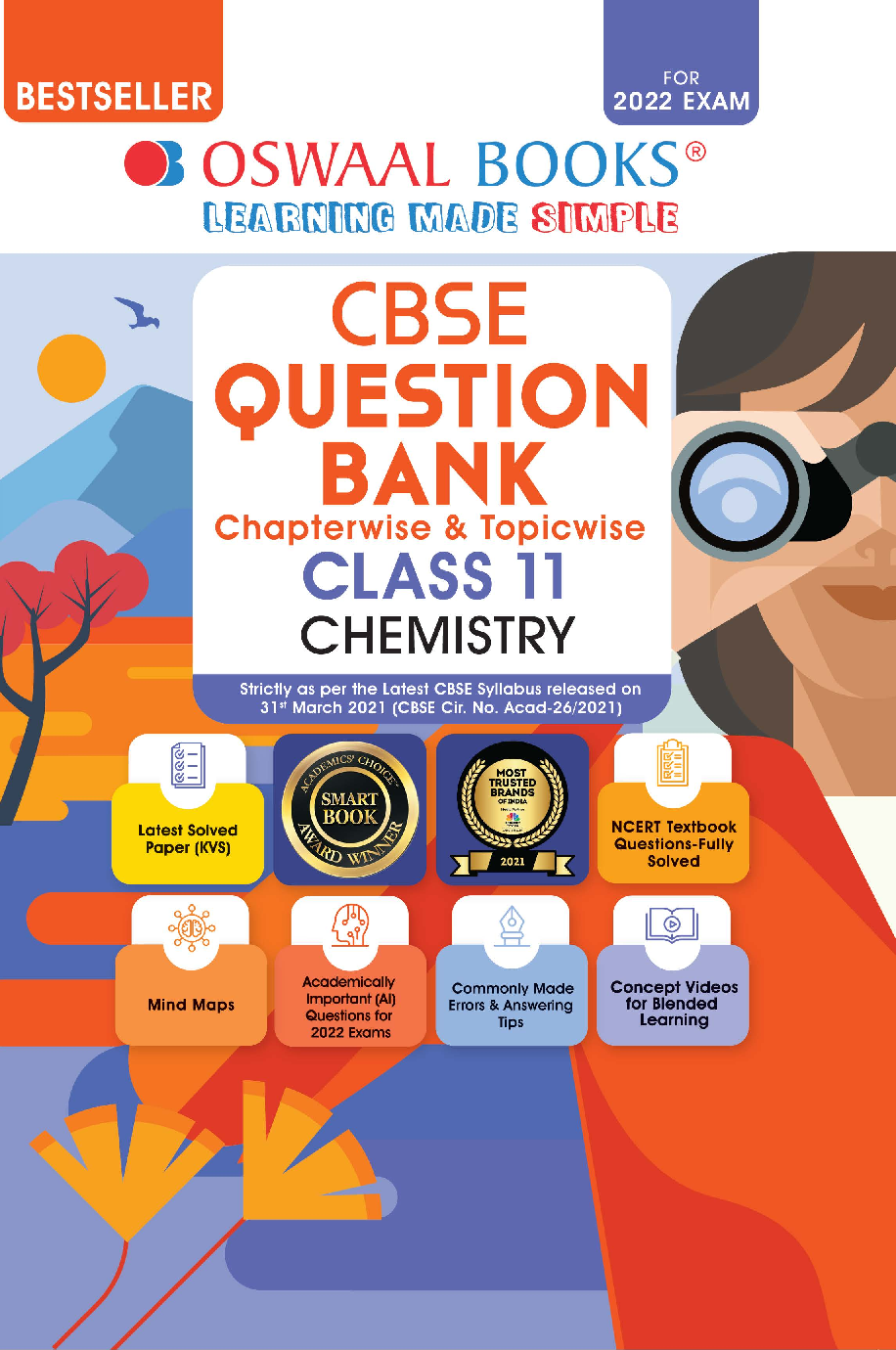 Oswaal CBSE Question Bank Class 11 Chemistry Book Chapterwise & Topicwise (For 2022 Exam) - Page 1