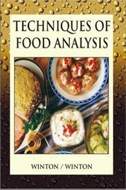 Techniques of Food Analysis
