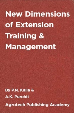 New Dimensions of Extension Training and Management