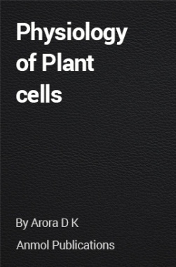Physiology of Plant cells