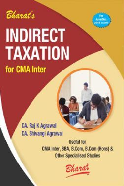 Indirect Taxation For CMA Inter