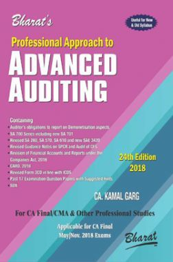 Professional Approach To Advanced Auditing & Professional Ethics
