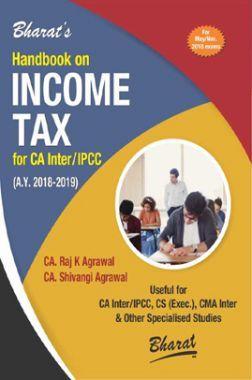 Handbook On Income Tax For CA Inter / IPCC