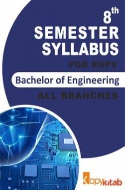 BE 8th Sem Syllabus of all Branches for RGPV