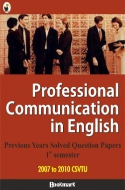 BookMark - Professional Communication in English- CSVTU - Previous Year Solved Question Papers