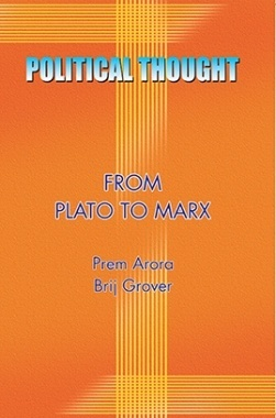 Political Thoughts (Plato To Marx)