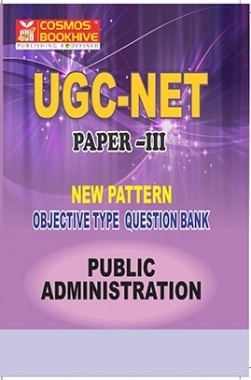 UGC-NET Paper-III Objective Type Question Bank Public Administration (New Pattern)
