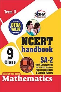 NCERT Handbook Term II Mathematics Class 9 (NCERT Solutions + FA Activities + SA Practice Questions & 5 Sample Papers)