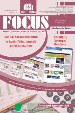 e-Focus August 2012 by ICSI