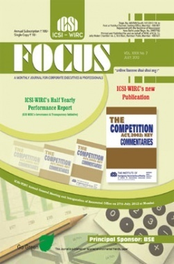 e-Focus July 2012 by ICSI