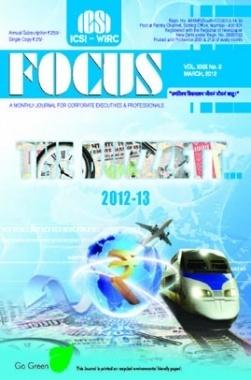 e-Focus March 2012 by ICSI