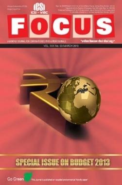 e-Focus March 2013 by ICSI