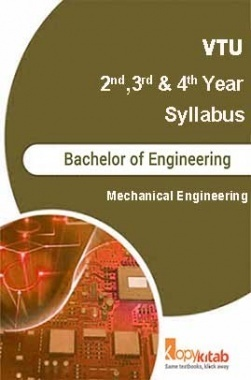 Mechanical Engineering Syllabus 2nd 3rd and 4th Year
