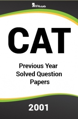 CAT Previous Year Solved Question Papers  2001
