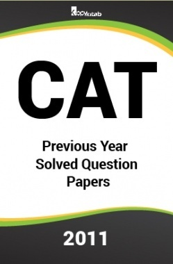 CAT Previous Year Solved Question Papers  2011