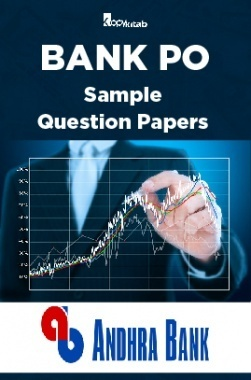 BANK PO Sample Question Papers For Andhra Bank