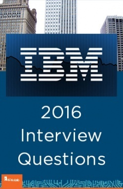 IBM Interview Questions With Solution 2016