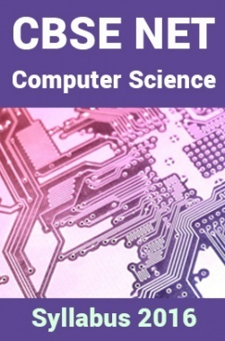 CBSE NET Computer-Science Syllabus 2016