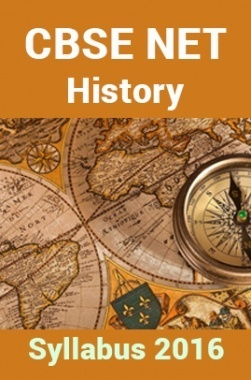 CBSE UGC NET History Syllabus 2016