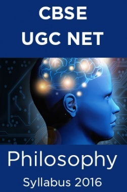 CBSE NET Philosophy Syllabus 2016