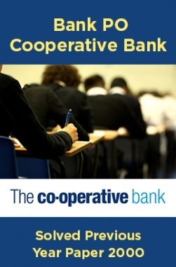 Bank PO Cooperative Bank Solved Previous Year Paper 2000
